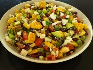 myinnerpollyanna_salad_corn_avocado_spicy